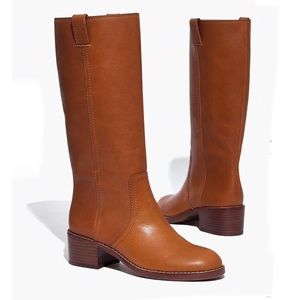 Madewell The Allie Boot In English Saddle Size 9.5